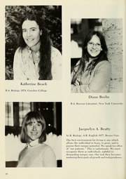 Page 14, 1981 Edition, Columbia University School of Nursing - Yearbook (New York, NY) online yearbook collection