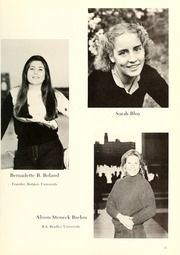 Page 15, 1981 Edition, Columbia University School of Nursing - Yearbook (New York, NY) online yearbook collection