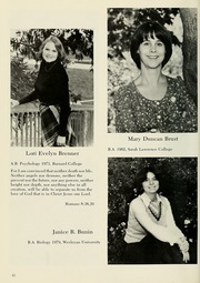 Page 16, 1981 Edition, Columbia University School of Nursing - Yearbook (New York, NY) online yearbook collection