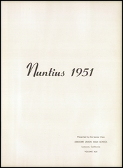 Page 7, 1951 Edition, Lemoore High School - Nuntius Yearbook (Lemoore, CA) online yearbook collection