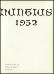 Page 7, 1952 Edition, Lemoore High School - Nuntius Yearbook (Lemoore, CA) online yearbook collection