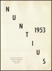 Page 7, 1953 Edition, Lemoore High School - Nuntius Yearbook (Lemoore, CA) online yearbook collection
