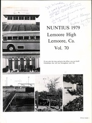Page 5, 1979 Edition, Lemoore High School - Nuntius Yearbook (Lemoore, CA) online yearbook collection
