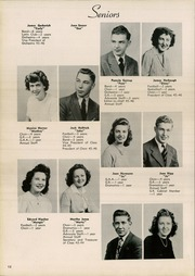 Page 16, 1946 Edition, Crestline High School - Fortyniner Yearbook (Crestline, OH) online yearbook collection