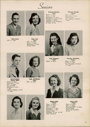 Page 17, 1946 Edition, Crestline High School - Fortyniner Yearbook (Crestline, OH) online yearbook collection