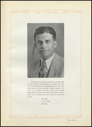 Page 13, 1931 Edition, Odessa High School - Corral Yearbook (Odessa, TX) online yearbook collection