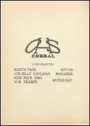 Page 6, 1938 Edition, Odessa High School - Corral Yearbook (Odessa, TX) online yearbook collection