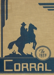 Odessa High School - Corral Yearbook (Odessa, TX) online yearbook collection, 1939 Edition, Page 1