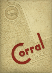 Page 1, 1941 Edition, Odessa High School - Corral Yearbook (Odessa, TX) online yearbook collection