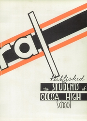 Page 7, 1941 Edition, Odessa High School - Corral Yearbook (Odessa, TX) online yearbook collection