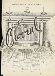 Page 3, 1949 Edition, Odessa High School - Corral Yearbook (Odessa, TX) online yearbook collection