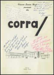 Page 7, 1956 Edition, Odessa High School - Corral Yearbook (Odessa, TX) online yearbook collection