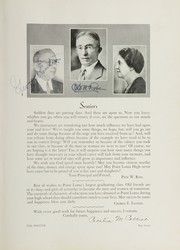 Page 13, 1932 Edition, Point Loma High School - El Portal Yearbook (San Diego, CA) online yearbook collection