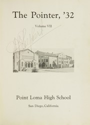 Page 5, 1932 Edition, Point Loma High School - El Portal Yearbook (San Diego, CA) online yearbook collection