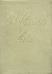 Page 1, 1940 Edition, Point Loma High School - El Portal Yearbook (San Diego, CA) online yearbook collection