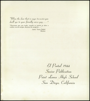 Page 5, 1944 Edition, Point Loma High School - El Portal Yearbook (San Diego, CA) online yearbook collection