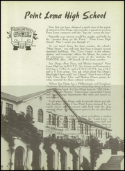 Page 9, 1951 Edition, Point Loma High School - El Portal Yearbook (San Diego, CA) online yearbook collection