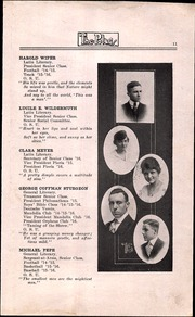 Page 13, 1916 Edition, North High School - Memory Yearbook (Columbus, OH) online yearbook collection