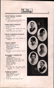 Page 15, 1916 Edition, North High School - Memory Yearbook (Columbus, OH) online yearbook collection