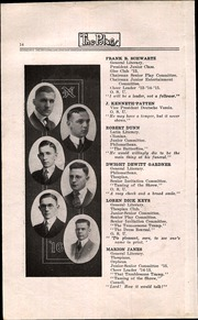 Page 16, 1916 Edition, North High School - Memory Yearbook (Columbus, OH) online yearbook collection