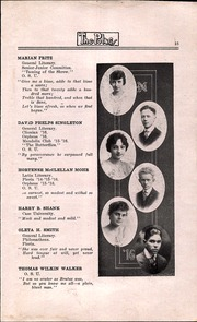 Page 17, 1916 Edition, North High School - Memory Yearbook (Columbus, OH) online yearbook collection