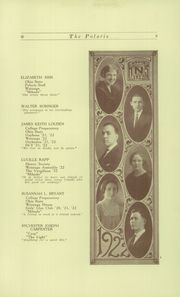 Page 11, 1922 Edition, North High School - Memory Yearbook (Columbus, OH) online yearbook collection