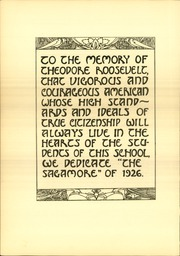 Page 10, 1926 Edition, Roosevelt High School - Sagamore Yearbook (Minneapolis, MN) online yearbook collection