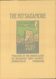 Page 7, 1927 Edition, Roosevelt High School - Sagamore Yearbook (Minneapolis, MN) online yearbook collection