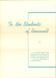 Page 8, 1938 Edition, Roosevelt High School - Sagamore Yearbook (Minneapolis, MN) online yearbook collection