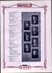 Page 13, 1929 Edition, Thomas Jefferson High School - Monticello Yearbook (Council Bluffs, IA) online yearbook collection
