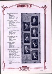 Page 15, 1929 Edition, Thomas Jefferson High School - Monticello Yearbook (Council Bluffs, IA) online yearbook collection