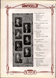 Page 16, 1929 Edition, Thomas Jefferson High School - Monticello Yearbook (Council Bluffs, IA) online yearbook collection