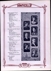 Page 17, 1929 Edition, Thomas Jefferson High School - Monticello Yearbook (Council Bluffs, IA) online yearbook collection