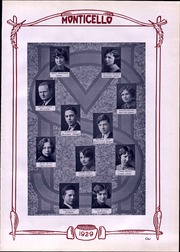 Page 7, 1929 Edition, Thomas Jefferson High School - Monticello Yearbook (Council Bluffs, IA) online yearbook collection