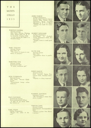 Page 11, 1933 Edition, Thomas Jefferson High School - Monticello Yearbook (Council Bluffs, IA) online yearbook collection