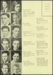 Page 12, 1933 Edition, Thomas Jefferson High School - Monticello Yearbook (Council Bluffs, IA) online yearbook collection