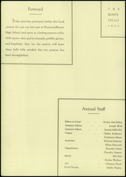 Page 4, 1933 Edition, Thomas Jefferson High School - Monticello Yearbook (Council Bluffs, IA) online yearbook collection