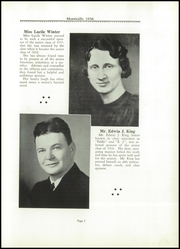 Page 7, 1936 Edition, Thomas Jefferson High School - Monticello Yearbook (Council Bluffs, IA) online yearbook collection