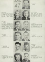 Page 14, 1947 Edition, Thomas Jefferson High School - Monticello Yearbook (Council Bluffs, IA) online yearbook collection