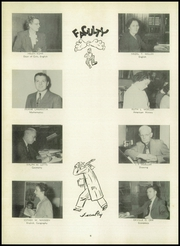 Page 10, 1950 Edition, Thomas Jefferson High School - Monticello Yearbook (Council Bluffs, IA) online yearbook collection