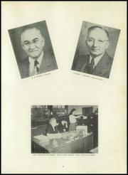 Page 7, 1950 Edition, Thomas Jefferson High School - Monticello Yearbook (Council Bluffs, IA) online yearbook collection