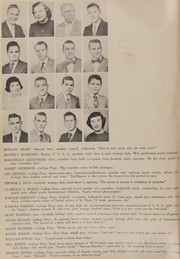 Page 16, 1953 Edition, Thomas Jefferson High School - Monticello Yearbook (Council Bluffs, IA) online yearbook collection