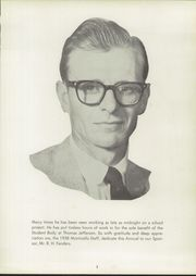 Page 7, 1958 Edition, Thomas Jefferson High School - Monticello Yearbook (Council Bluffs, IA) online yearbook collection