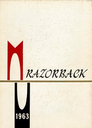 University of Arkansas Fayetteville - Razorback Yearbook (Fayetteville, AR) online yearbook collection, 1963 Edition, Page 1