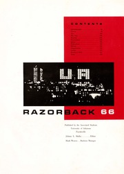 Page 3, 1966 Edition, University of Arkansas - Razorback Yearbook (Fayetteville, AR) online yearbook collection