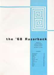 Page 5, 1968 Edition, University of Arkansas - Razorback Yearbook (Fayetteville, AR) online yearbook collection