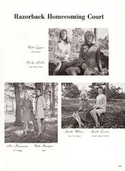 Page 245, 1969 Edition, University of Arkansas - Razorback Yearbook (Fayetteville, AR) online yearbook collection