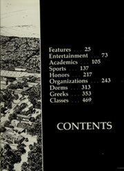 Page 7, 1981 Edition, University of Arkansas - Razorback Yearbook (Fayetteville, AR) online yearbook collection