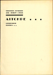 Page 7, 1934 Edition, Hyde Park High School - Aitchpe Yearbook (Chicago, IL) online yearbook collection