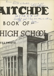 Page 7, 1938 Edition, Hyde Park High School - Aitchpe Yearbook (Chicago, IL) online yearbook collection